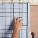 Vantaggi: Fissaggio monorete clip
